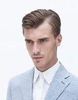 男的7分头分哪边好 男生分头发型往哪边分时尚图片
