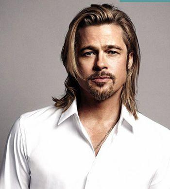 发型热点 > 好看的男生长发发型 >   男士中长卷发发型一直深受各个图片