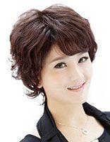 韩国中老年短发发型 老年妇女最短发型图片