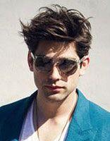 男生烫染发型 男生纹理烫头发发型图片
