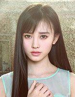 方脸适合的中长直发发型图片大全 适合方脸的直发发型