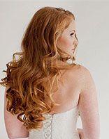 暗红螺旋卷发型 热烫螺旋卷发型图片