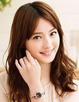 头尖额窄脸宽适合的卷发和刘海相片