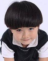 3-5岁小孩蘑菇头短发发型图片 儿童蘑菇头发型