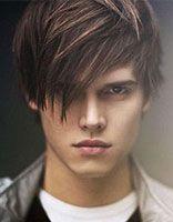 男学生长刘海发型图片 韩国男生长刘海发型