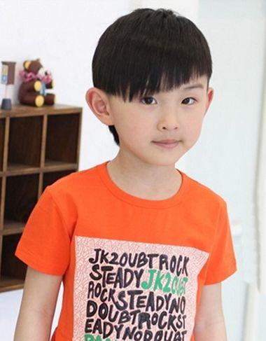 6岁以下男孩的发型 有没有6岁男孩发型图片[新娘发型]-男孩发型 小男图片