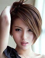 长脸中长短发发型 2016适合长脸的短发型
