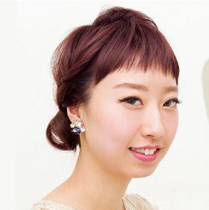 圆脸长发发型扎法 圆脸长发发型扎法及步骤图片