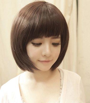 圆脸适合沙宣发型吗 圆脸沙宣短头发发型