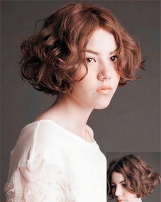 短发蛋卷头好打理吗 短发蛋卷烫发发型图片