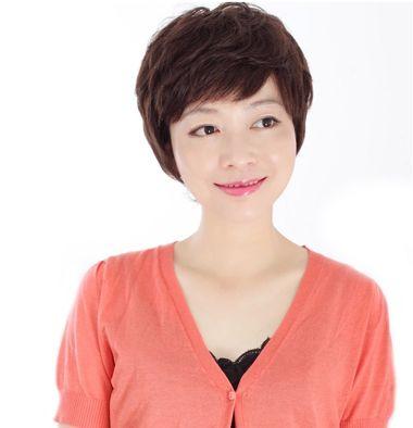 减龄短发图片