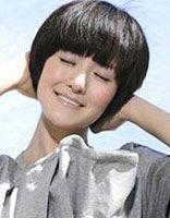 谢娜蘑菇头短发图片 女生蘑菇头短发