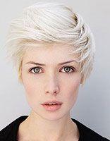 长脸剪短发应剪什么发型 女生长脸短发发型图片