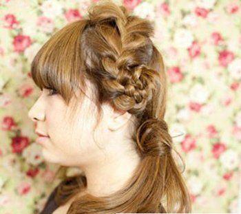 怎样编头发才漂亮 好看漂亮的编头发发型图片
