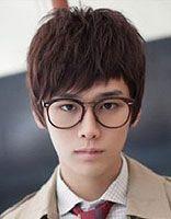 韩式男生学生发型 韩式学生时尚发型图片