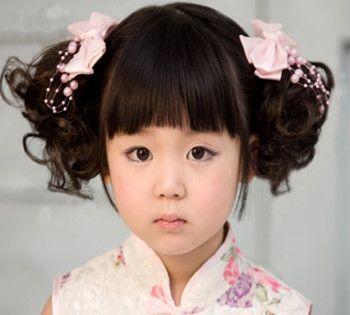 小孩的包包头怎么扎 儿童短发怎样扎包包头图片