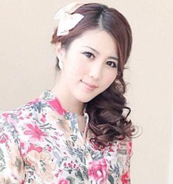 斜刘海头发有哪些的扎法 长脸型斜刘海怎么扎头发