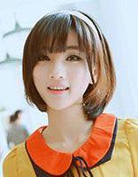 高中女生中短发发型 女生中短发最新发型图片