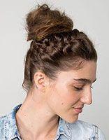 长发包包头怎么扎好看图解 教你学扎清新脱俗的的包包