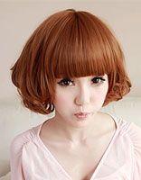时尚波波头发型留什么刘海 波波头适合剪刘海吗