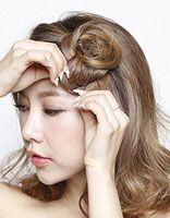 女生刘海编发发型 女生长发编发发型图片