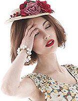 波波头戴什么帽子好看 戴帽子的波波头发型图片