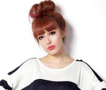 三十岁女性扎头发发型 时尚辣妈扎发发型图片
