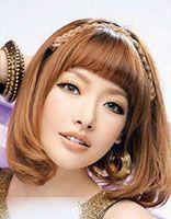 长脸女孩适合梨花头发型吗 适合长脸的内扣梨花头发型图片