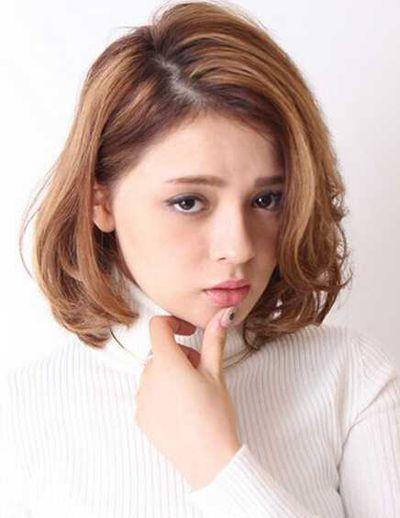 2016短款梨花头发型 时尚内扣梨花头发型图片