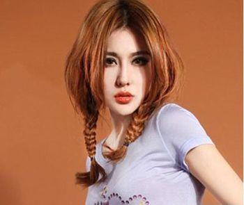 初中学生可爱扎发发型 女孩扎可爱发型图片