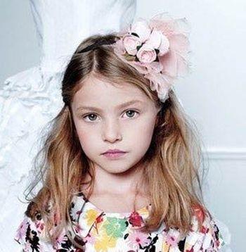 2016适合胖脸的儿童发型 胖脸小女孩扎发发型