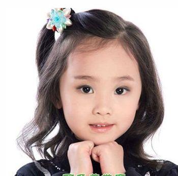 女童可爱发型怎么扎 小孩可爱发型扎法