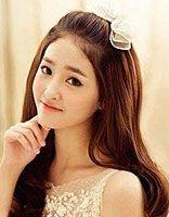 韩式发型半披发 新娘韩式发型图片