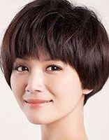 圆脸适合短直发发型吗 圆脸适合的短发发型