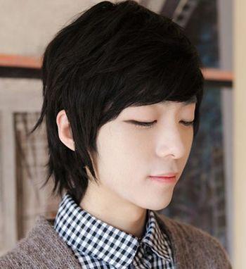韩国学生发型男 韩国男孩学生发型图片图片