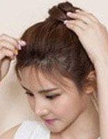 发型小丸子头 丸子头发型扎法步骤