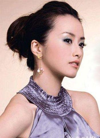 中年女韩式无刘海包包头 女性包包头怎么梳