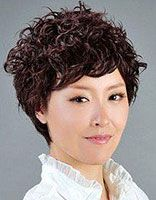 女士中老年发型 中老年发型短发
