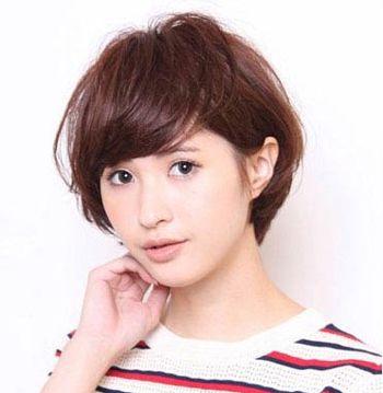 短发发型图片2016女
