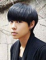 男生波波头发型图片 学生波波头发型图