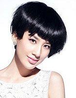 宴会简单发型 中年女性短发宴会发型
