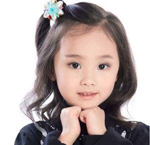 流行美儿童发型图片 影楼儿童发型