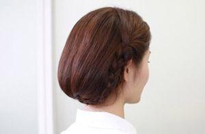 长发怎样扎波波头 中长发变波波头步骤图解