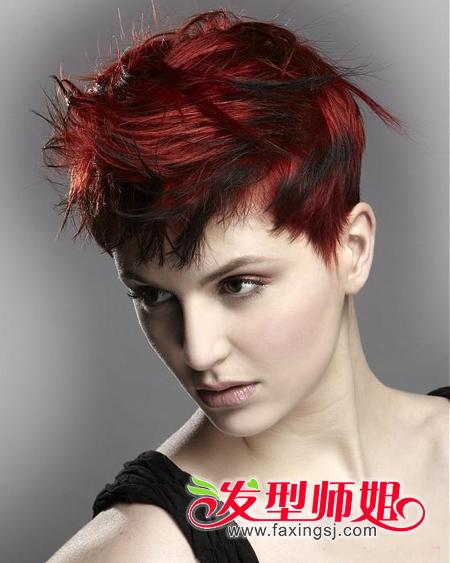 2014沙宣短发发型图片 最新沙宣短发设计