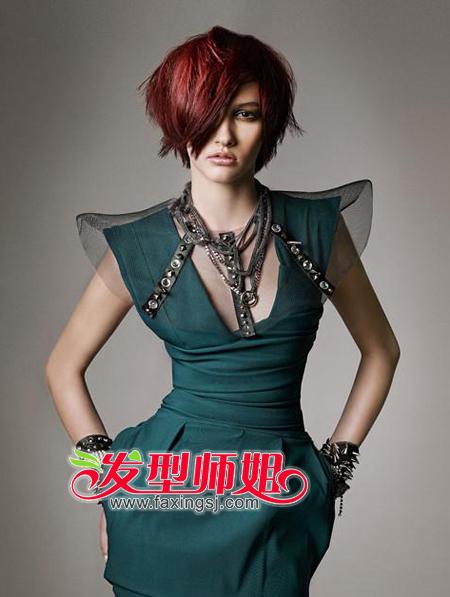 2014沙宣短发发型图片 最新沙宣短发设计 发型师姐