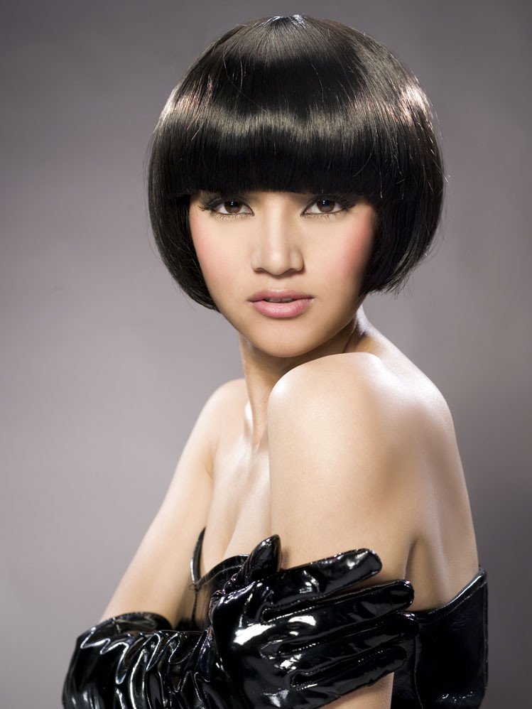 美感沙宣发型设计图 沙宣烫发发型图片