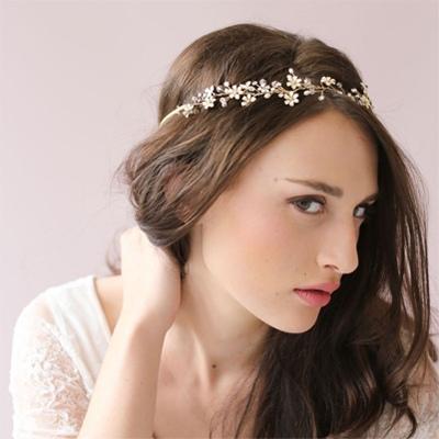 时尚新娘头设计 晚宴新娘发型设计