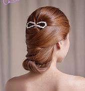 五款超美新娘盘发