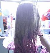 时尚潮流染发 渐变色发型染发教程