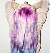 彩虹色染发